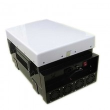 200W Waterproof High Power Cellular Phone Jammer WiFi Jammer with Directional Panel Antennas
