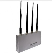 15 Meters Jamming Range Desktop Remote Controlled 3G Mobile Signal Jammer