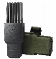 World First 12 Antennas Handheld Mobile Phone Jammer 4G LOJACK GPS WIFI RC Jammer