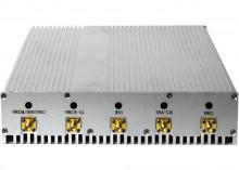 12W Desktop 8 Antenna 3G Cellphone GPS Bluetooth VHF UHF Signal Jammer