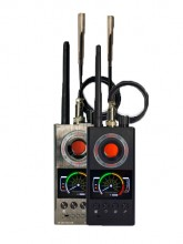 Multifunctional intelligent portable wireless signal radio frequency detector