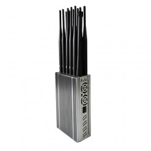 Newest Handheld 5G WiFi 4G/3G/2G Cell Phone Signal Jammer All GPS Bands Blocker