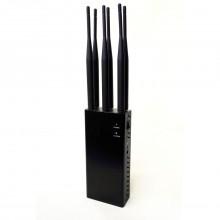 Handheld WiFi Bluetooth Blocker 2G 3G 4G Mobile Phone Signal Jammer