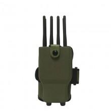 Handheld Powerful 8 Antennas Selectable 2G 3G 4G Worldwide Phone Jammer & WiFi GPS Jammer