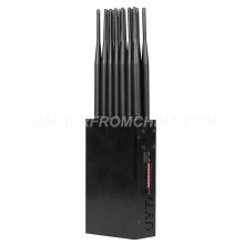 World First All-in-One 14 Antennas Full Bands Cell Phone Signal Jammer 315/433/868 Remote Control 5G WIFI GPS Blocker