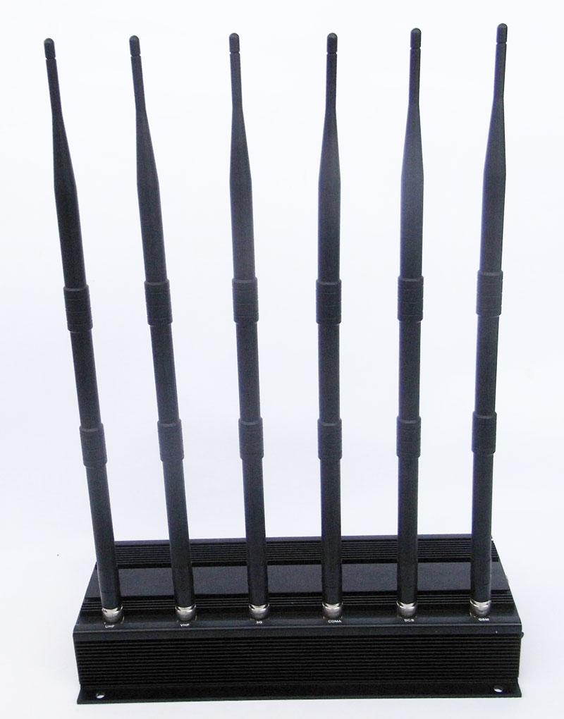 Car remote control blocker - Adjustable High Power Prison Jammer PJ6100