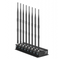 Adjustable 8 Antennas Desktop 5G Cell Phone Jammer 2G 3G 4G 5G Signal Blocker