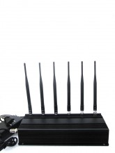 15W High Power 6 Antenna 3G Mobile Phone UHF Bluetooth Signal Jammer
