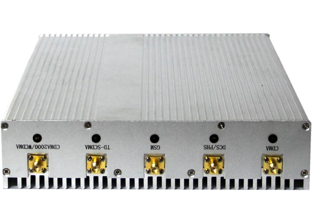 Block cell phone reception | 12W Desktop 8 Antenna 3G Cellphone GPS Bluetooth VHF UHF Signal Jammer
