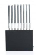 40W Power 3G 4G Cell Phone Signal Jammer & WiFi Blocker