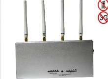 Remote Controlled Phone Jammer with 10m to 30m Shielding Radius