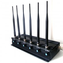 15W High Power Adjustable All 2G 3G 4G GPS Signal Jammer