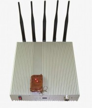 15W High Power 3G Mobile Phone Jammer with Remote Controller