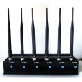 15W High Power Adjustable 6 Antenna Bluetooth GPS Mobile Phone Jammer