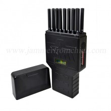 Portable Hidden 16 Antennas 5G Cell Phone Jammer WiFi GPS UHF VHF RC Signal Blocker
