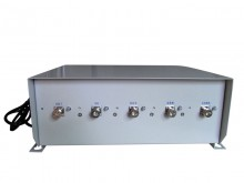 Adjustable 70W High Power 3G Phone Jammer with 100 meters Shielding Radius