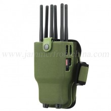 Powerful 6 Antennas Portable Selectable WiFi Blocker 3G/4G Cell Phone Blocker with Carry Case