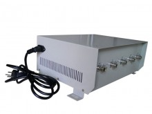 70W Powerful Desktop Mobile Phone Jammer for 4G LTE with Omnidrectional Antenna