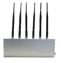 12W High Power Desktop 6 Antenna Mobile Phone WiFi Signal Jammer