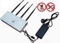 4 Antenna 2G 3G Remote Controlled Mobile Phone Signal Jammer