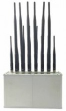 14 bands Signal Jammer for All Bands of Mobile Phone,Wi-Fi,Lojack,VHF&UHF Radio